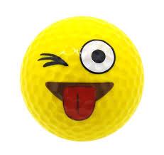 JK Emoji Golf Balls