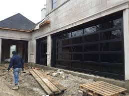 Modern Aluminum Garage Doors Clear Glass Garage Doors Clear Garage