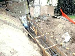 concrete retaining wall forms concrete retaining wall forms retaining wall construction engineering retaining wall forms poured