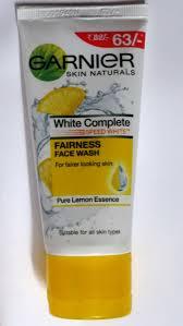 Garnier White Complete Fairness Face Wash Review Beauty