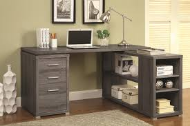wooden office desks. Brilliant Desks Grey Wood Office Desk On Wooden Desks S