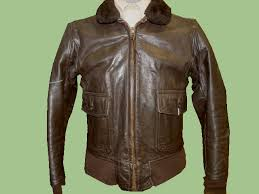 original u s naval aviator type g 1 leather flight jacket vietnam war size
