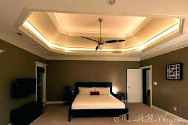 drop ceiling lighting suspended fixtures light 2 recessed in basement