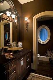Dark Brown Bathroom Decor Coma Frique Studio b83fa6d1776b