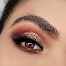 perfect prom makeup tutorial glittery gold smokey eyes