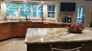 two tone kitchen countertop
