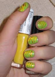 yellow | Furry Fury Nail Art