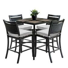 outdoor bar table and chairs. Outdoor/Indoor Outdoor Bar Table And Chairs