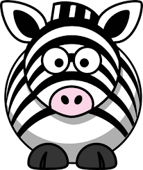 Image result for clip art zebra