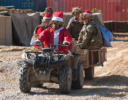 File:Soldiers Delivering Christmas Mail in Afghanistan MOD ...
