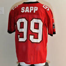 Warren Vintage Sapp Details Nfl Jersey Bay Adidas Size Buccaneers Large Tampa Red About