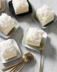 Vanilla Coconut Sheet Cake