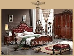 Anitque Royal Palace Oriental King Size Sex Bed Room Set TH01#