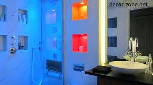 led bathroom lighting ideas. Blue Led Bathroom Lights Creative Lighting Ideas Pertaining To .