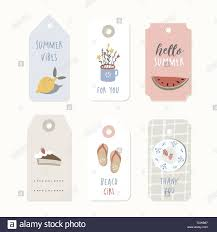 Summer Gift Tags Set Of Vintage Sale And Gift Tags Labels Summer Tropical
