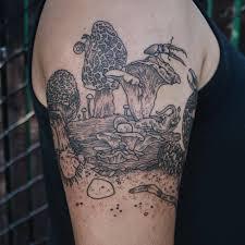 Galeriemagická Přírodní Tetování Krása Zvířat A Rostlin Foto 1