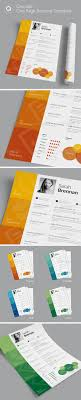Cascade One Page Resume Template By Quanticalabs | Graphicriver