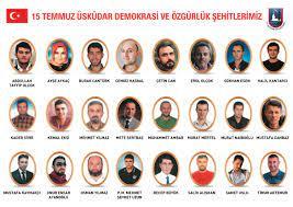 15 Temmuz Demokrasi ve Özgürlük Şehitlerimiz için