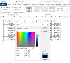 06 selecting custom color