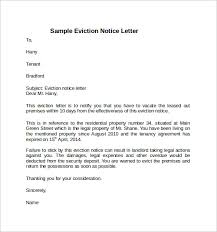 Rent Notice Letter Sample Sample Notice To Vacate Under Fontanacountryinn Com