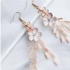 3pcs flower shape earrings erfly