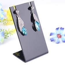 Earring Display Stands Wholesale Cheap Black Acrylic Necklace Stand find Black Acrylic Necklace 53