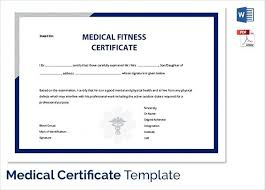 Medical Certificate Template Interesting Sick Leave Certificate Sample Juanmarinco