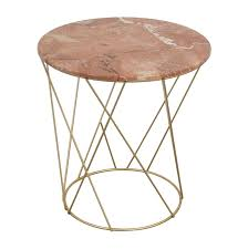 lotus pink gold round marble table tables