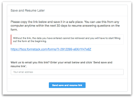 Once a Save and Resume link is made to finish the form and they click  'Submit', then the link will no longer be active.