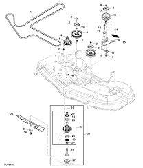 John deere parts diagrams john deere z425 eztrak mower w 54inch deck pc9594 mower drive belt sheaves spindles blades mower deck 54c mower deck and