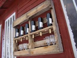DIY pallet wine rack instructions and ideas for racks and shelves
