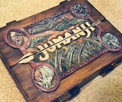 Real Wooden Jumanji Board Game Extraordinary Jumanji Board Game Replica