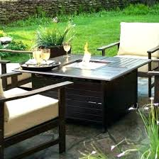 firepit coffee table patio table with gas fire pit outdoor fire pit coffee table coffee table