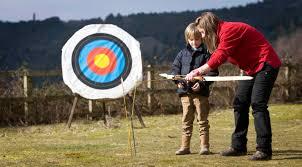 outdoor activities. Archery Tamar Trails Outdoor Activities
