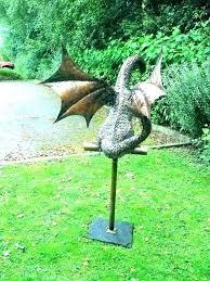 animal statues for garden lawn animal statues cement lawn ornaments mythical gargoyle australian native animal garden