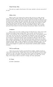 report example story book report example story