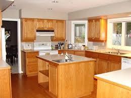 honey oak kitchen cabinets with granite countertops oak kitchen cabinets dark small house interior design ideas