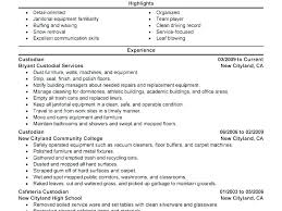 Another Word For Cleaner On Resume Download Resume Samples Putasgae Info