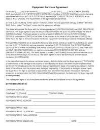 Purchasing Contracts Templates 31 Sample Agreement Templates In Microsoft Word