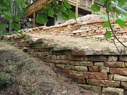 dry stack retaining wall missouri washington mo