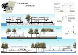 chelmsford art gallery ndesign london architectural and section