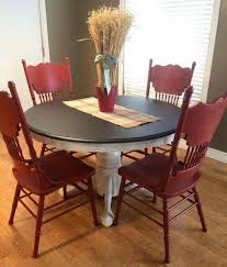 Red dining table set Dining Chairs Colorful Kitchen Tables Kitchen Table Sets Red Kitchen Decor Dining Sets Kitchen Pinterest Pin By Charlene Roper On Country Kitchen Dining Room Kitchen Paint