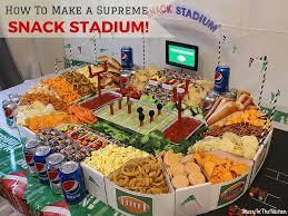 fun and easy supreme snack stadium