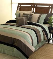 black brick red and chocolate and camel jacaranda striped microsuede 6 pc luxury duvet cover bedding set only 65 99