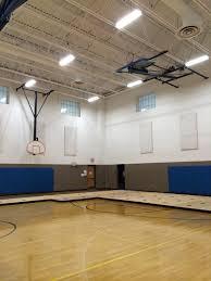 led lighting retrofit for community center gym