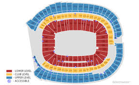 Us Bank Seat Chart Tcf Bank Stadium Vikings Seating Chart