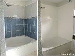 How To Refinish Outdated Tile Yes I Painted My Shower Bathroom Repair Painting Bathroom Tiles Diy Bathroom