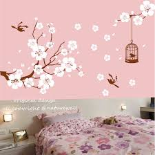 Pink Flower Wallpaper For Bedrooms Japanese Cherry Blossom Bedroom Wallpaper Modern Decoration Agers