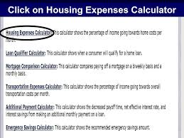 Monthly Expenses Calculator 1 Powerpay Calculators Education Center July Ppt Download