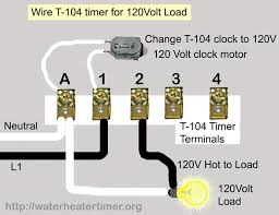 how to wire intermatic t and t and t timers use this diagram to control 3 phase using t104 timer